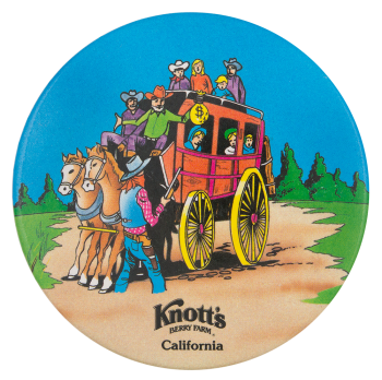 Knott's Berry Farm California Entertainment Button Museum