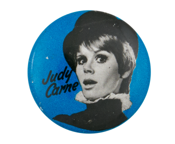 Laugh-In Judy Carne Entertainment Button Museum