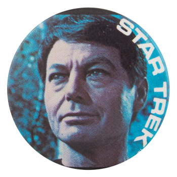 Leonard McCoy Star Trek Entertainment Button Museum