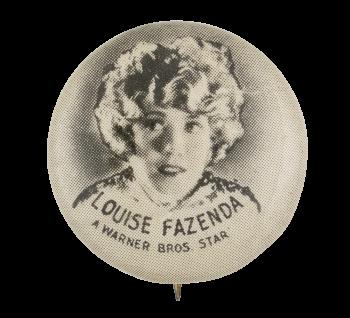 Louise Fazenda Entertainment Button Museum