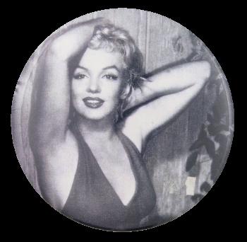 Marilyn Monroe Entertainment Button Museum