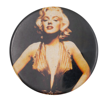 Marilyn Monroe Color Photograph Entertainment Button Museum