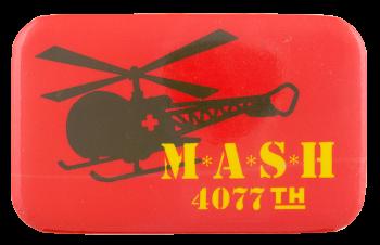 M.A.S.H. 4077th Entertainment Button Museum