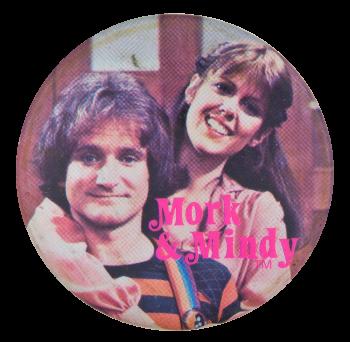 Mork & Mindy Entertainment Button Museum