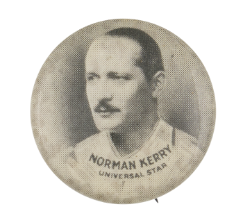 Norman Kerry Entertainment Button Museum
