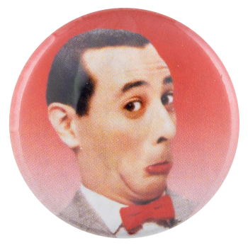 Pee-Wee Herman Entertainment Button Museum