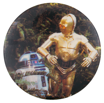 R2-D2 and C-3PO Entertainment Busy Beaver Button Museum