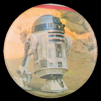 R2-D2 Star Wars Entertainment Button Museum