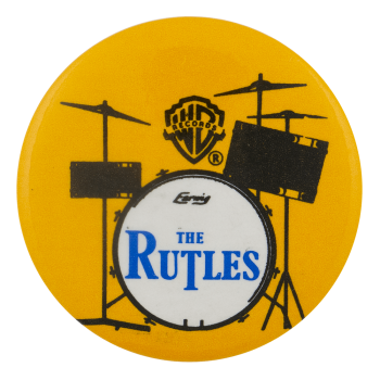 Rutles Drums Entertainment Busy Beaver Button Museum