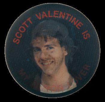 Scott Valentine Is My Demon Lover Entertainment Busy Beaver Button Museum