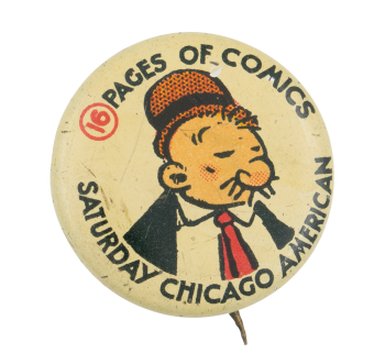 Sixteen Pages of Comics Entertainment Button Museum