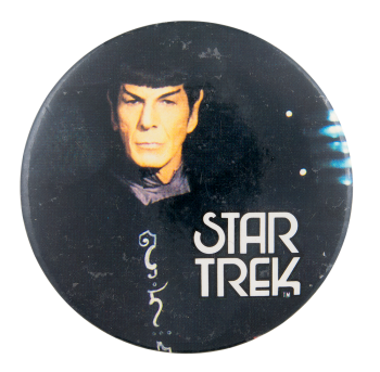 Star Trek Spock Entertainment Button Museum