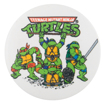 Teenage Mutant Ninja Turtles Entertainment Button Museum