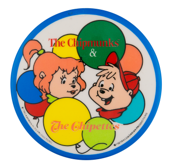 The Chipmunks and the Chipettes Entertainment Button Museum