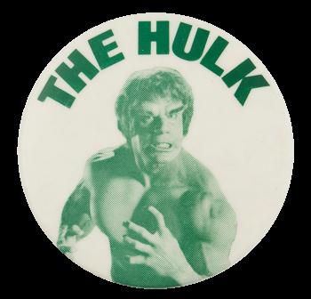 The Hulk Entertainment Button Museum