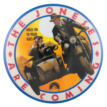 The Joneses Are Coming Entertainment Busy Beaver Button Museum