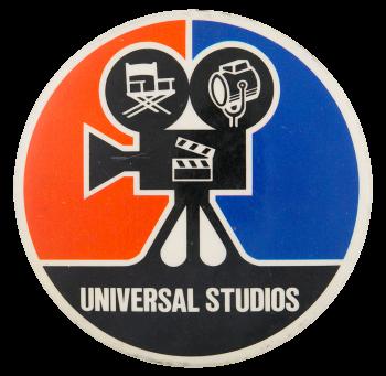 Universal Studios Camera Entertainment Button Museum