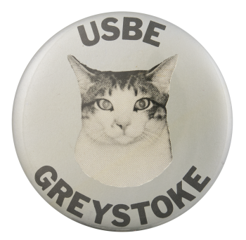 USBE Greystoke Entertainment Button Museum