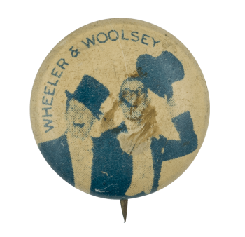 Wheeler and Woolsey Entertainment Button Museum