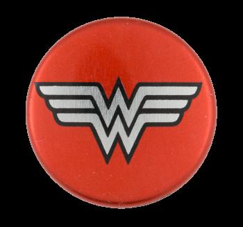 Wonder Woman Entertainment Button Museum
