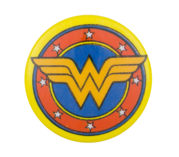 Wonder Woman Symbol Entertainment Button Museum