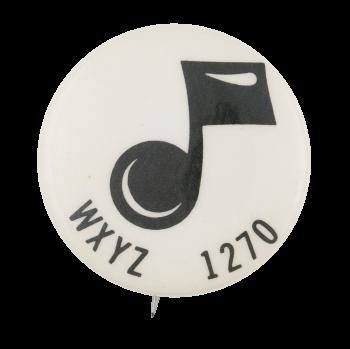 WXYZ 1270 Entertainment Button Museum