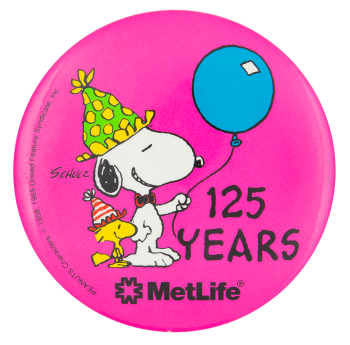 125 Years MetLife Event Button Museum