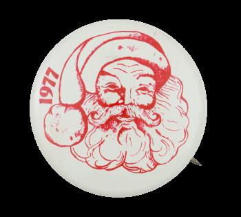 1977 Santa Claus Event Button Museum