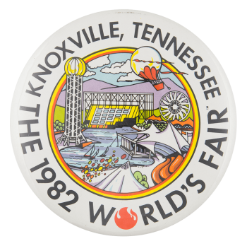 1982 World's Fair Event Button Museum