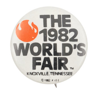 1982 World's Fair Knoxville Event Button Museum