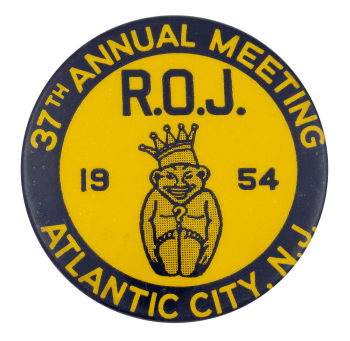 37th Annual Meeting R.O.J. Event Button Museum