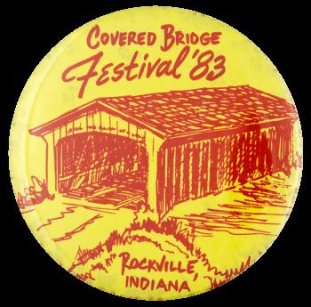 Covered Bridge Festival Event Busy Beaver Button Museum