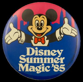 Disney Summer Magic 85 Event Busy Beaver Button Museum