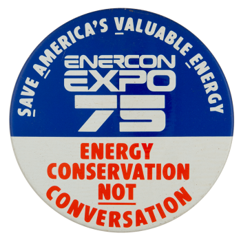 Enercon Expo 75 Event Busy Beaver Button Museum