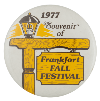 Frankfort Fall Festival Event Busy Beaver Button Museum