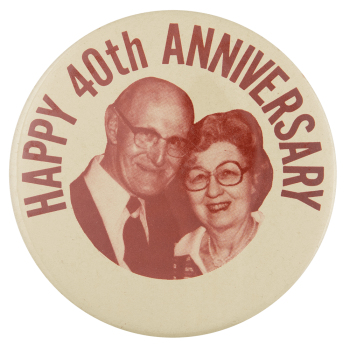 Happy 40th Anniversary Event Busy Beaver Button Museum
