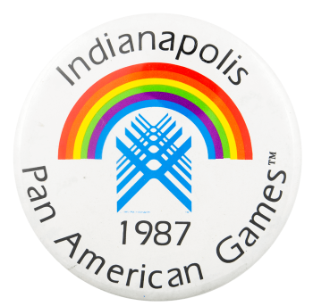 Indianapolis Pan American Games Event Busy Beaver Button Museum