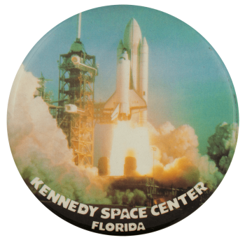 Kennedy Space Center Launch Event Busy Beaver Button Museum
