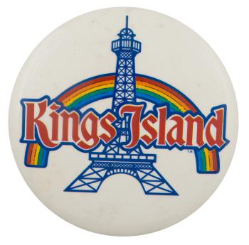 Kings Island Rainbow Event Busy Beaver Button Museum