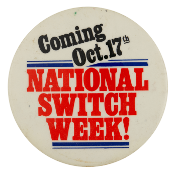 National Switch Week Event Busy Beaver Button Museum