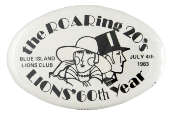 The Roaring 20s Lions Club Club Busy Beaver Button Museum