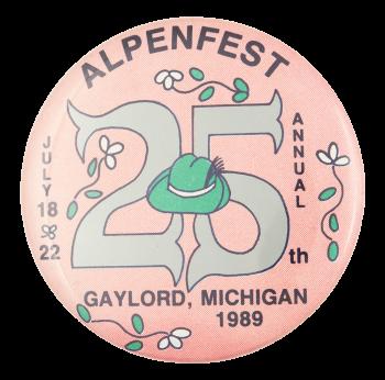 Alpenfest Event Button Museum