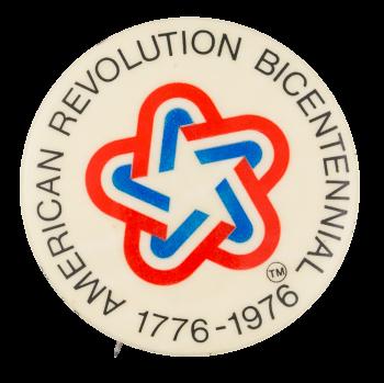 American Revolution Bicentennial Event Button Museum