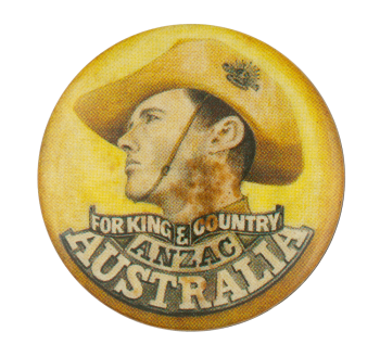 Anzac Australia Event Button Museum