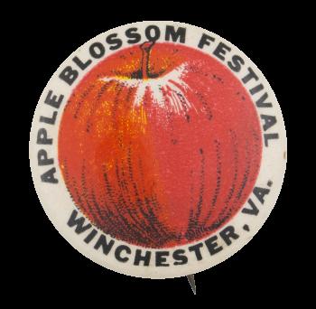 Apple Blossom Festival Event Button Museum