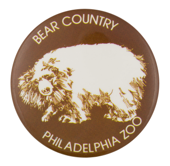 Bear Country Philadelphia Zoo Event Button Museum