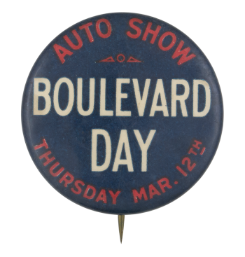 Boulevard Day Event Button Museum