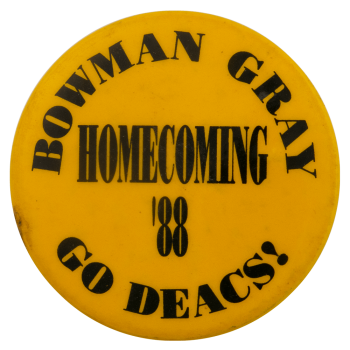Bowman Gray Homecoming Event Busy Beaver Button Museum