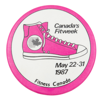 Canada's Fitweek Event Button Museum