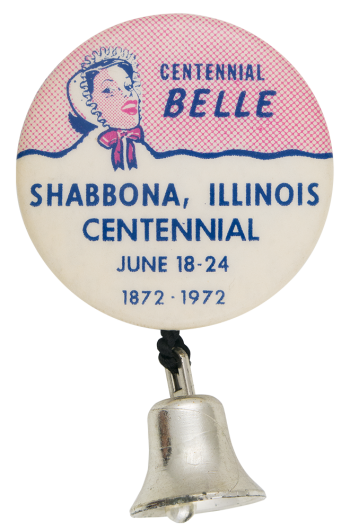 Centennial Belle Event Button Museum